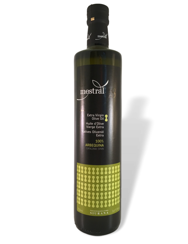 Mestral Natives Olivenöl Extra, 100% Arbequina, 750ml